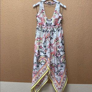 H&M handkerchief halter dress